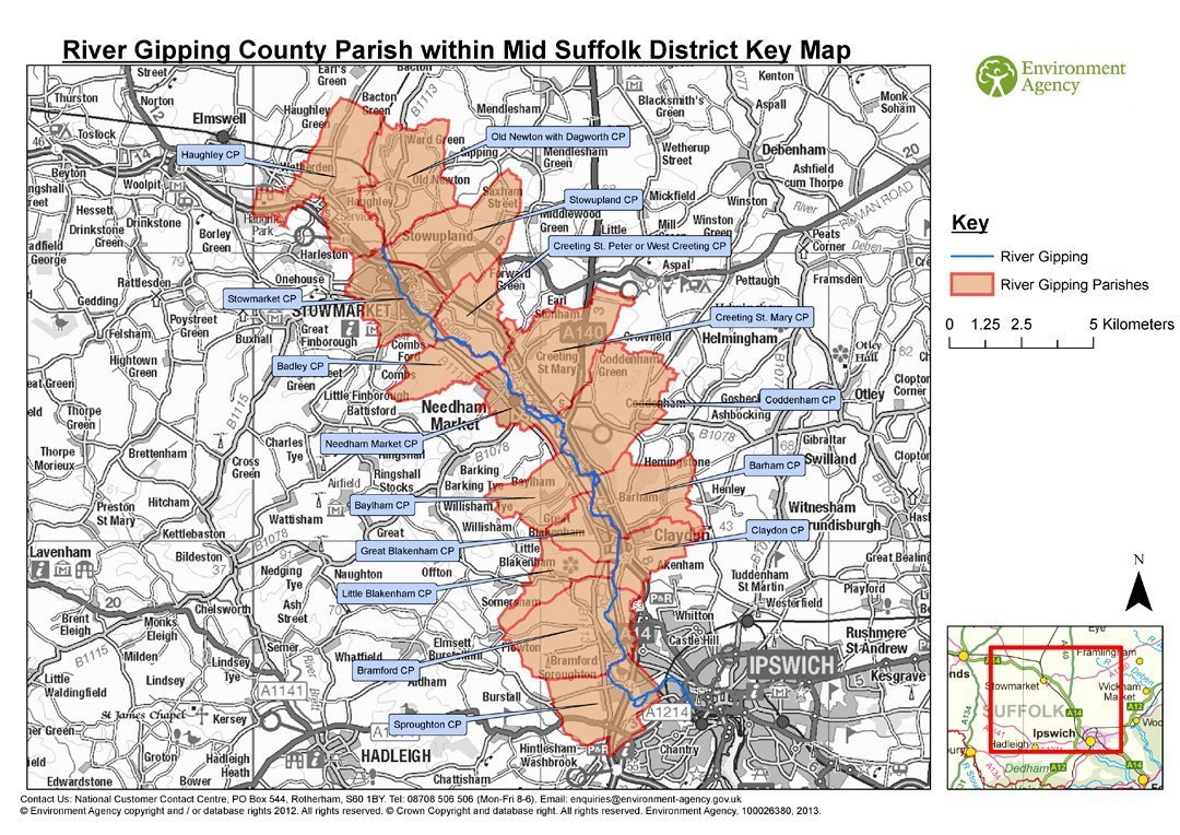 Parish Maps from the Environment Agency