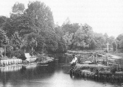Entrance to 'Alderman Canal'