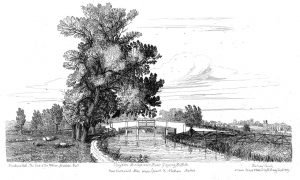049 Claydon Bridge - Davy engraving 1837