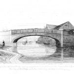102 Stoke Bridge - engraving by Davy (1837)