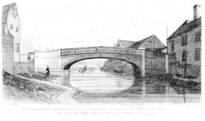 102 Stoke Bridge - engraving by Davy (1837)