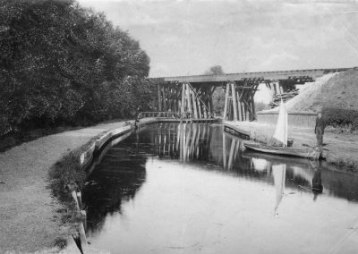Boss Hall viaduct 1901