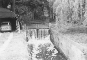 035 Baylham Lock Around 1960 in derelict condition