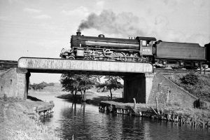 077 Boss Hall viaduct 1950