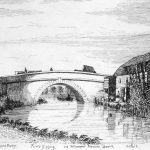 089 Handford Bridge Engraving by Davy in 1837