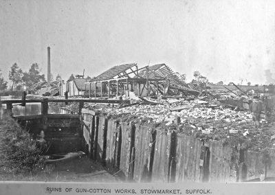 Gun Cotton explosion