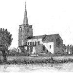 067 Bramford Church - Davy engraving 1837