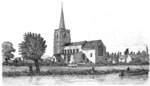 067 Bramford Church - Davy engraving 1837