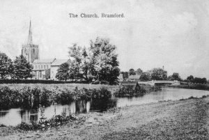 069 Bramford Church and Boat House