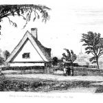 070 A Cottage in Bramford - Davy engraving from 1837