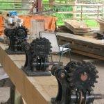 0riginal winding gear in position
