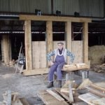 Ray, our carpenter and craftsman