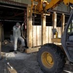 Dismantling ready for transport to site (2)