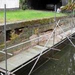 July 2011 Baylham lock wall repairs