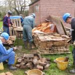 April 2015 More bricks for cleaning