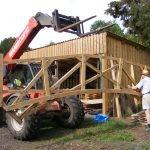 May 2014 Moving the bridge to Pipps Ford