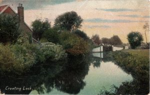 Creeting Lock 1910