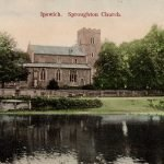 Sproughton Church 1905
