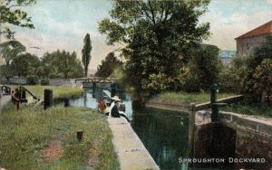Sproughton Lock 1913
