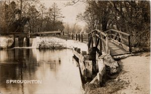 Sproughton Lock 1928