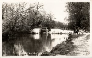 Sproughton Lock 1936