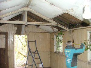 004 Site hut clearance